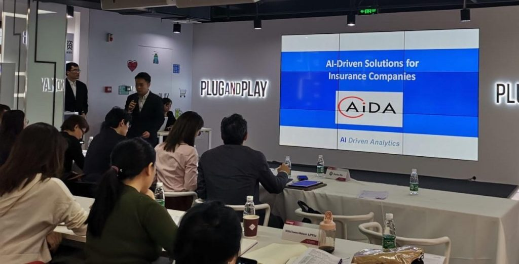 AIDA Techologies COO, Dr. Andrew Ang, attended PlugAndPlay's Insurtech event in Beijing - AiDA Technologies