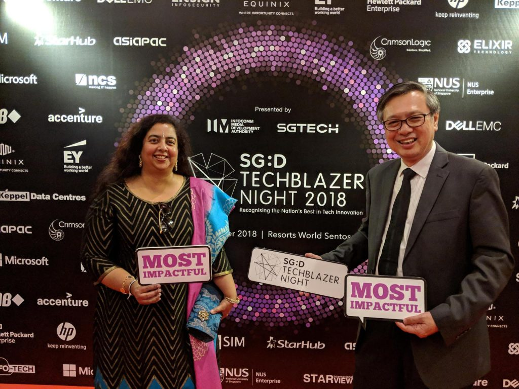 AiDA CEO and CTO received an award - AiDA Technologies