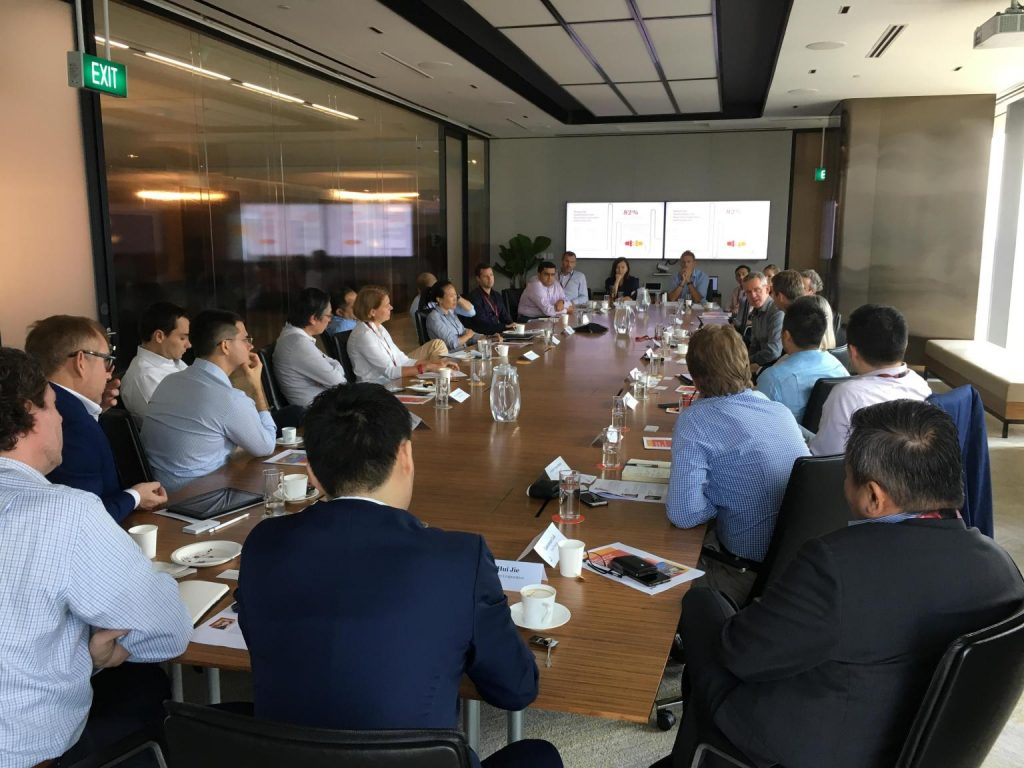 AIDA Technologies CEO, Dr. Geok Leng Tan, attended the round table series - AiDA Technologies