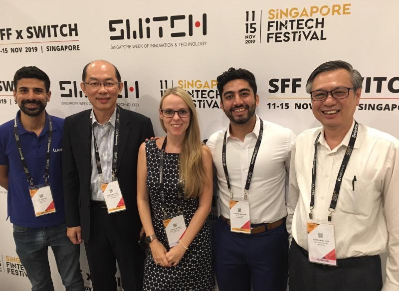 Recorded live at Singapore FinTech Festival 2019 AiDA Technologies