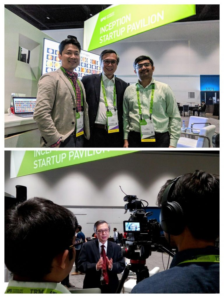 AIDA Technologies CEO, Dr Geok Leng Tan went to California to present - AiDA Technologies
