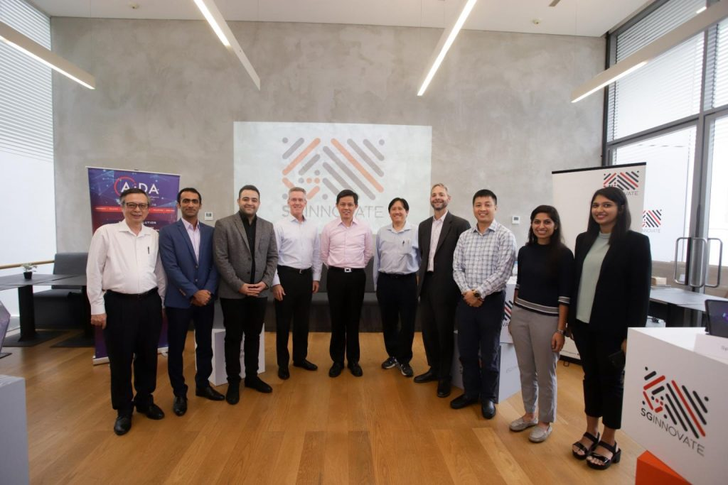 AIDA Technologies CEO, Dr. Geok Leng Tan was one of the speakers at the SGInnovate Expert Series- AiDA Technologies