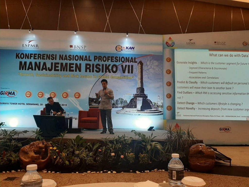 Dr. Andrew Ang, COO of AIDA Technologies, spoke at the LSPMR conference on Risk management - AiDA Technologie
